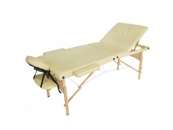 JF-AY01 три секции массажный стол складной деревянный