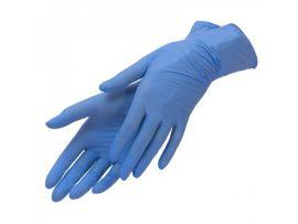 Перчатки нитриловые (Голубые)