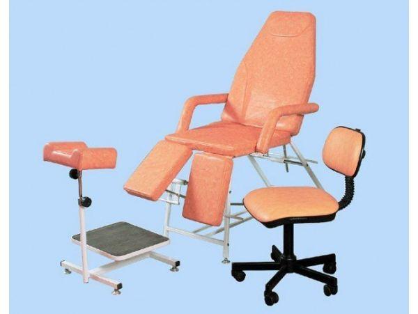 Педикюрная группа СП (кресло, подставка, стул)